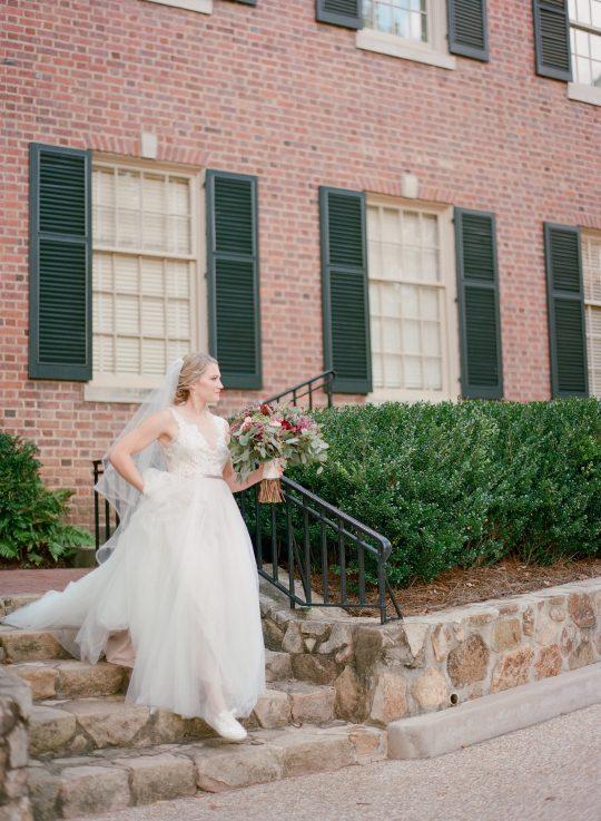Bride in Sneakers Wedding Photo
