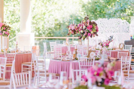 Bubblegum Pink Wedding Reception Inspiration