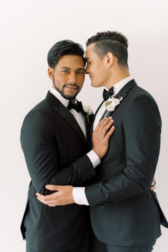 Classic Elegant Same Sex Grooms