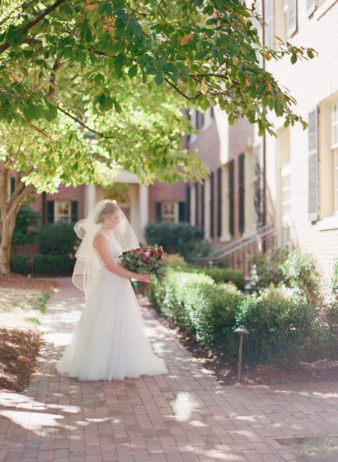 Classic Romantic Bride Wedding Photo