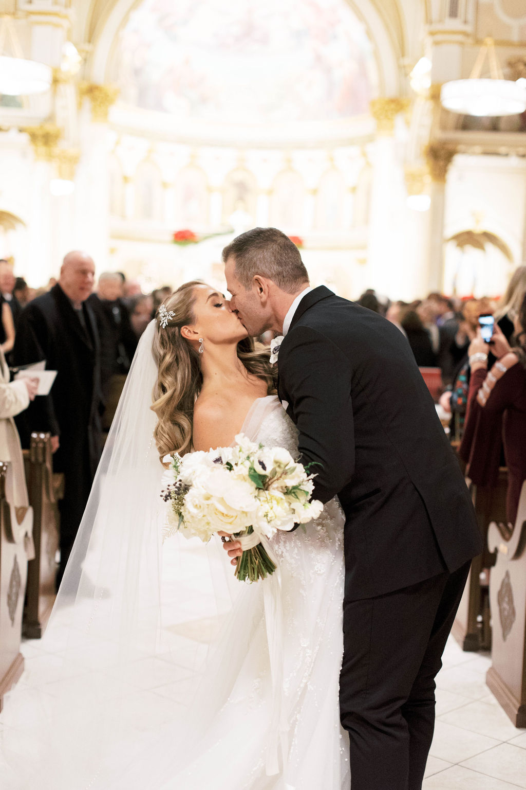 Elegant Winter Wedding Ceremony