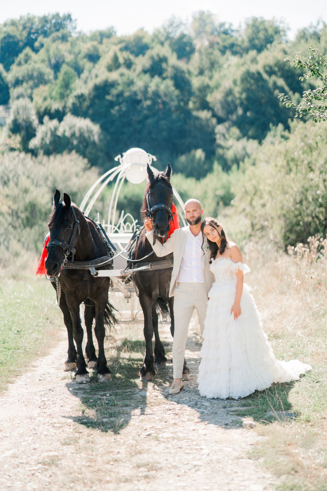 Fairy Tale Wedding Carriage