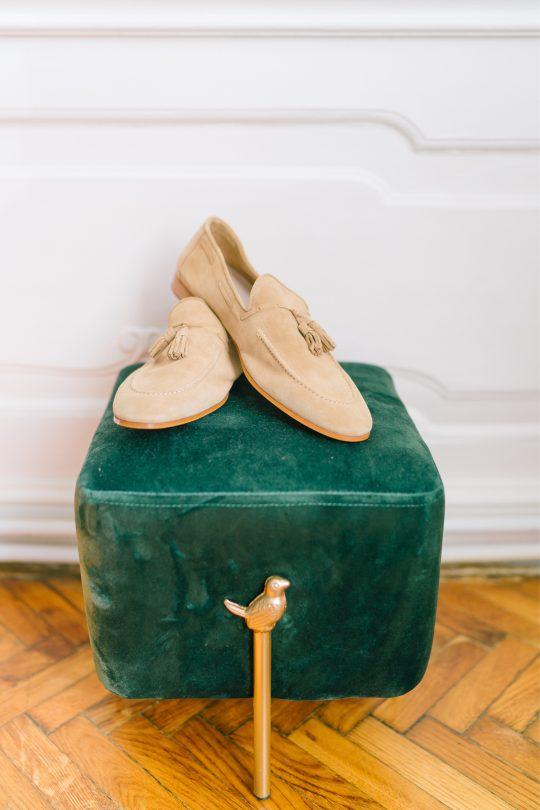 Groom Suede Loafer