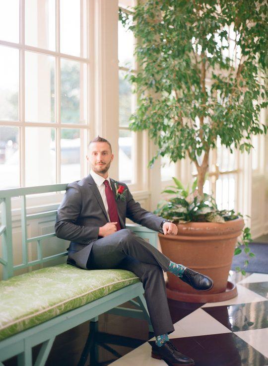 Groom Wedding Look