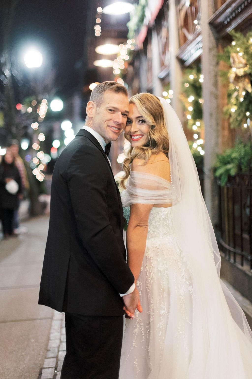 Luxe Chic Winter Wedding in Boston