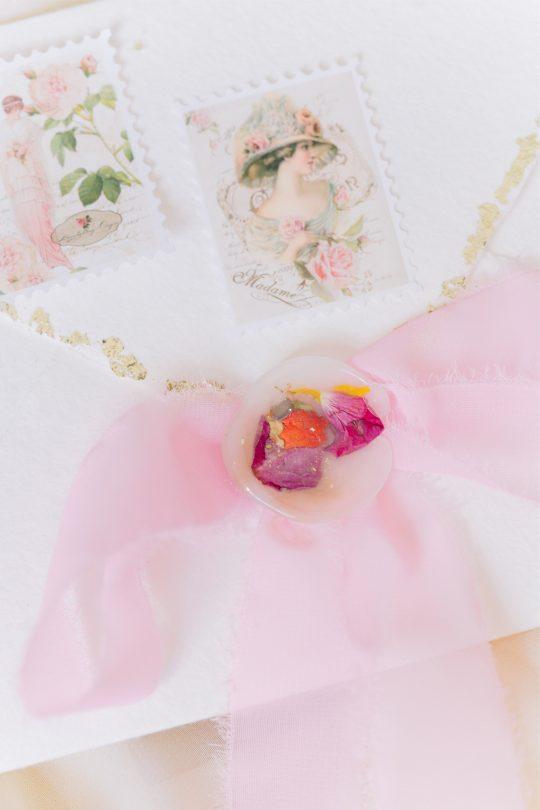 Pressed Flower Wax Seal
