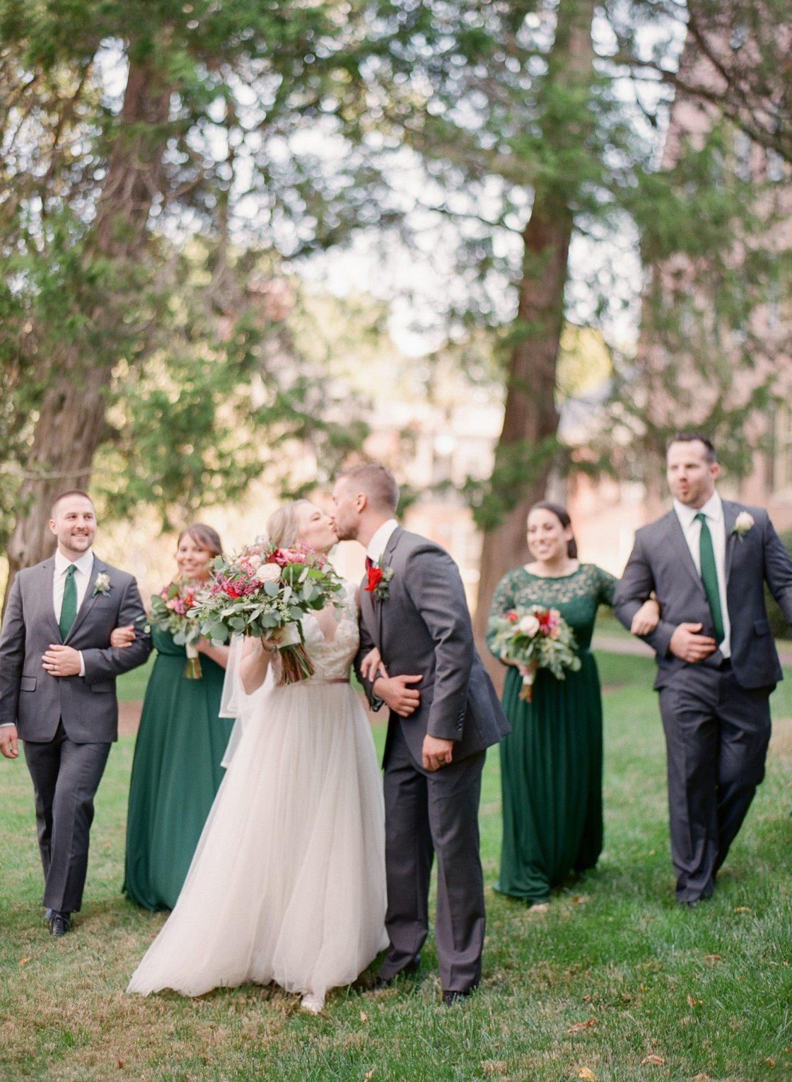 Romantic Bridal Party Photo