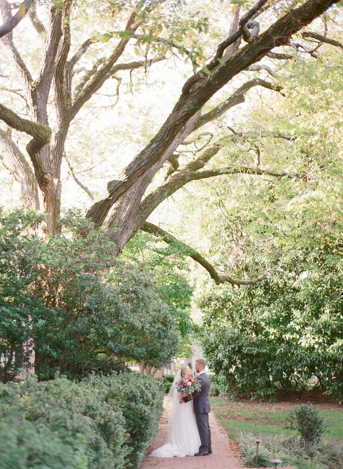 Romantic Southern Wedding Photo