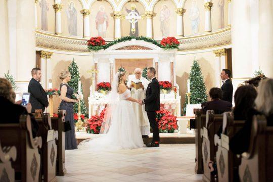 Traditional Catholic Church Wedding