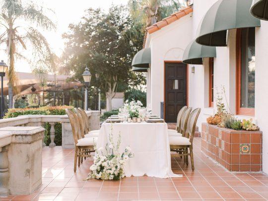 elegant villa wedding ideas XO and Fetti 22