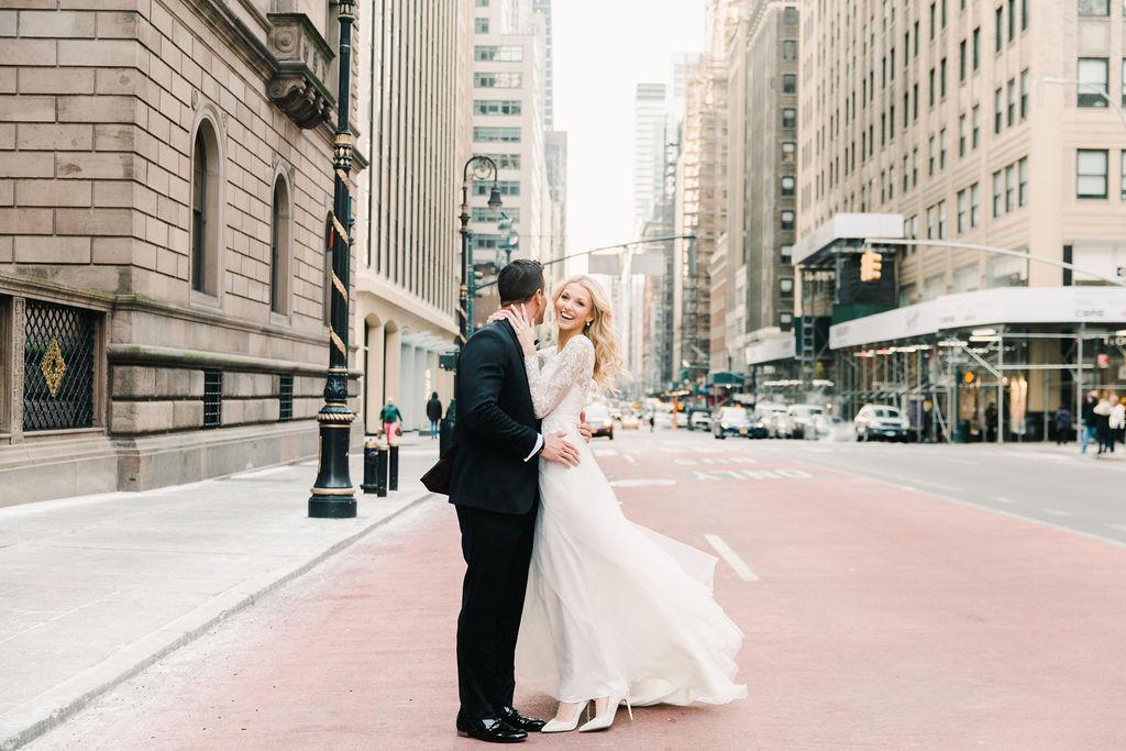 intimate winter NYC wedding Gemini Photography 16